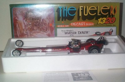 Bruce Wheeler Wheeler Dealer Fuel Dragster