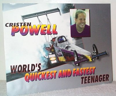 Cristen Powell '97 Royal Purple Handout