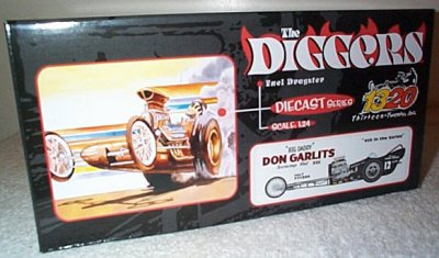 Don Garlits Swamp Rat VIII 1320 Inc.