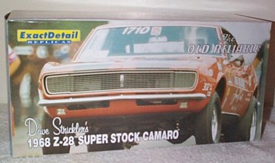 Dave Strickler SS/F '68 Camaro Z/28