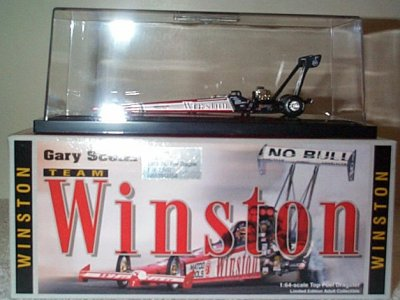 Gary Scelzi '99 Team Winston Top Fuel Dragster