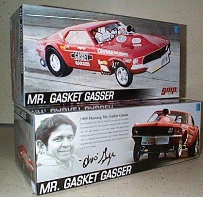 George Montgomery Mr. Gasket Mustang