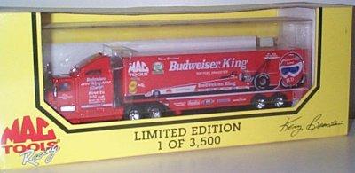 Kenny Bernstein Budweiser King Team Transporter