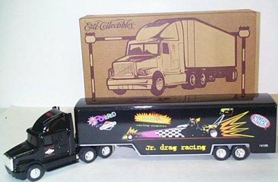 NHRA Jr. Drag Racing League Transporter