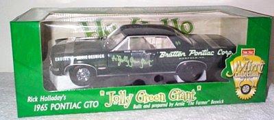 Rick Holladay Jolly Green Gaint '65 B/S GTO