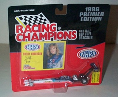 Shelly Anderson WA/PA '96 Top Fuel Dragster