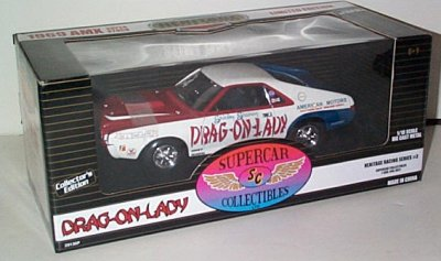 Shirley Shahan Drag On Lady '69 AMC AMX
