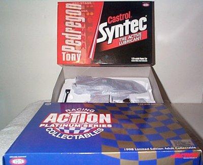 Tony Pedregon Castrol Syntec '98 Ford Mustang