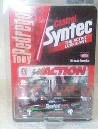 Tony Pedregon Castrol Syntec '98 Mustang F/C
