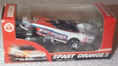 Whit Bazemore Fast Orange '95 Dodge F/C