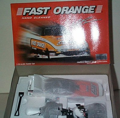 Whit Bazemore Fast Orange '95 Dodge Funny Car