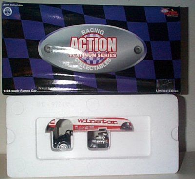Whit Bazemore Winston '97 Mustang Funny Car