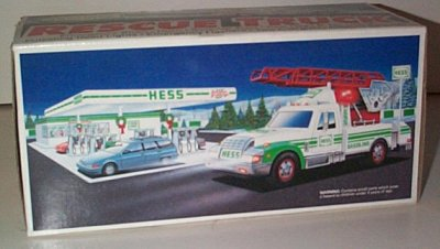 Hess Gasoline '94 Toy Rescue Truck