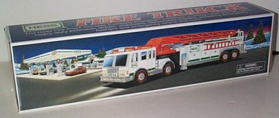Hess Gasoline '00 Toy Fire Truck