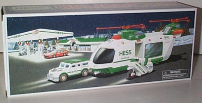 Hess Gasoline '01 Toy Helicopterw/Cruiser