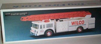 '90 Wilco Gasoline Toy Fire Truck