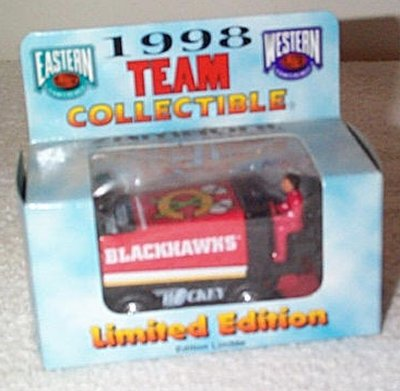 Chicago Blackhawks '98 Zamboni D-500