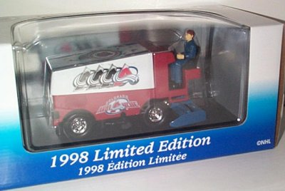 NHL Colorado Avalanche '98 Zamboni Bank