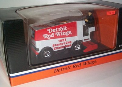 Detroit Red Wings '97 Stanley Cup Zamboni Bank