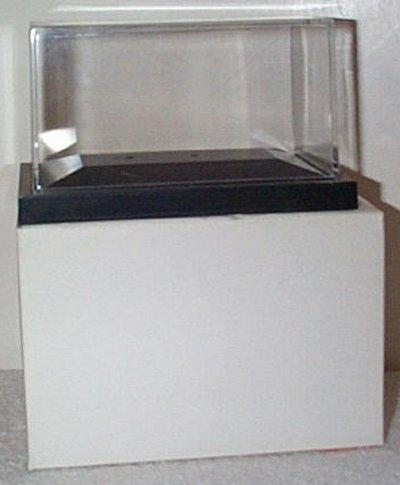 Display Case For Zamboni D-500 Black Base