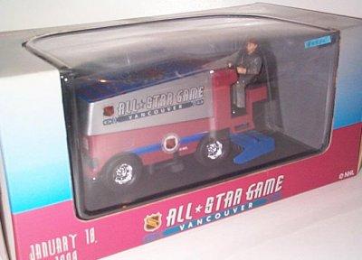 NHL '98 All Star Game Zamboni D-500 Bank
