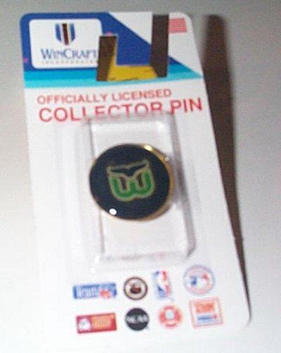 Whalers 1 Inch Round Collector's Metal Pin