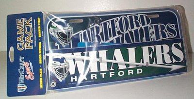 Hartford Whalers Team Collector's Game Pack