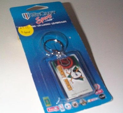 NHL Mighty Ducks Of Anaheim Key Ring