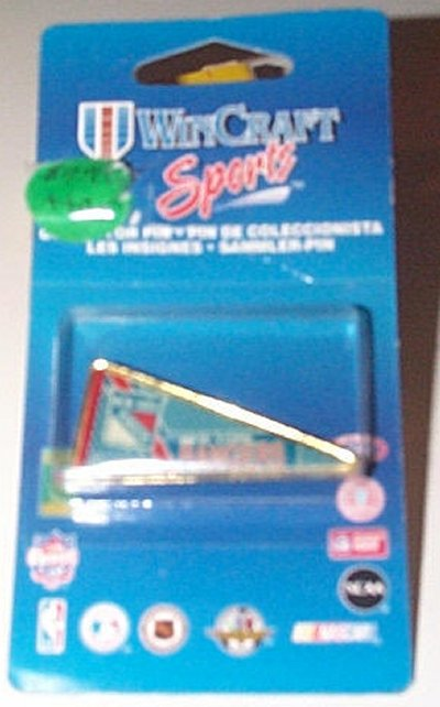New York Rangers Collectible Metal Pennant Pin