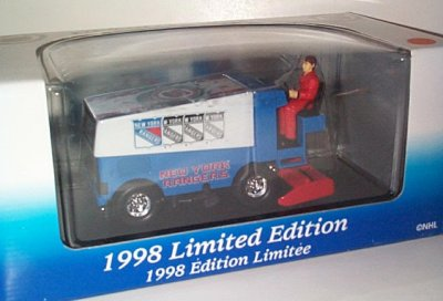 New York Rangers '98 Zamboni D-500 Bank