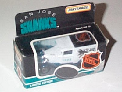 NHL San Jose Sharks Ford Model A Panel Truck