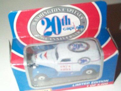 NHL Washington  Capitals 20th Anniversary Truck