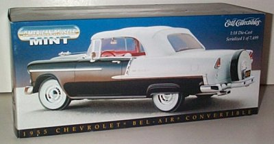 1955 Chevrolet Convertible Mint Series