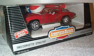 '63 Corvette Sting Ray In Red