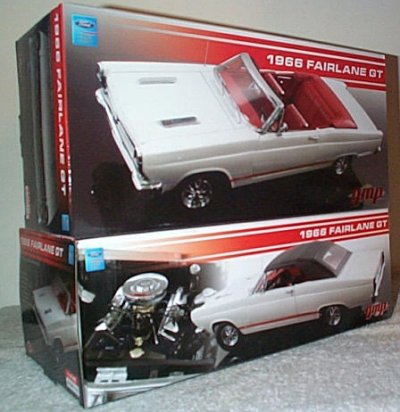 '66 Ford Fairlane GT Convertible In White