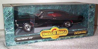 '66 Pontiac GTO In Black