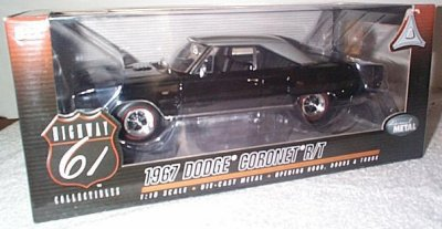 '67 Dodge Coronet R/T Black/Silver