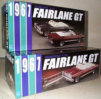 '67 Ford Custom Fairlane GT Convertible
