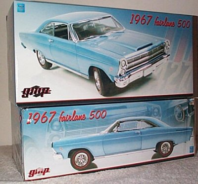 '67 Ford Fairlane In Light Blue By GMP