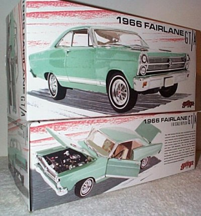 '66 Ford Fairlane GT-A Turquoise
