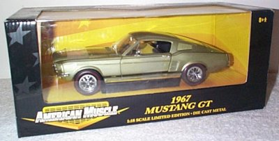 '67 Ford Mustang GT Lime Green