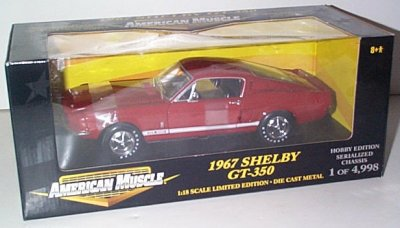 '67 Shelby GT-350 Hobby Edition
