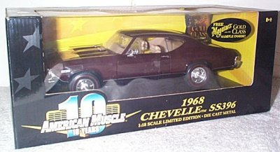 '68 Chevrolet Chevelle SS396 In Maroon