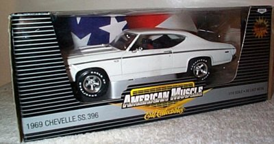'69 Chevy Chevelle SS396 White 1 Of 2,500