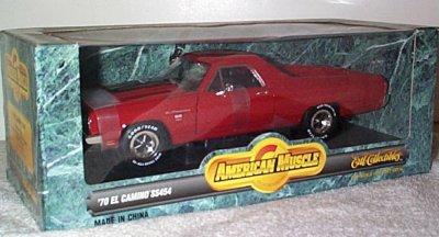 '70 Chevrolet El Camino SS454 In Red