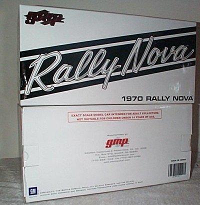 '70 Chevrolet Rally Nova In Orange