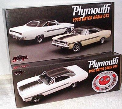 '70 Plymouth GTX Beige w/Gator Top