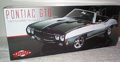 '70 Pontiac GTO Convertible Restomod GMP