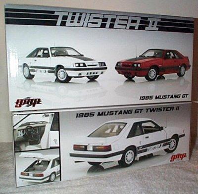 '85 Mustang GT Twister II White