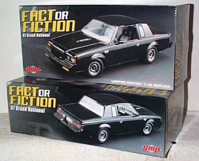 '87 Buick Grand National Fact Of Fiction